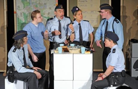 Theaterpädagogik & Arbeitsleben: Polizisten