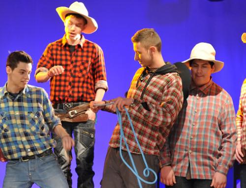 Theaterspielen mit Berufsschüler*innen